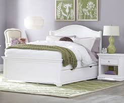 white full bed bayfront full lounge bed living spaces image