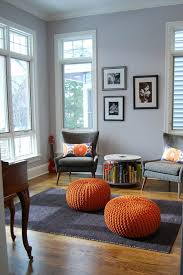 small round table with book storage space is a great space saver