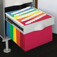 Hanging Files For Filing Cabinets Smead Hanging File Folders 1 5 Tab 11 Point Stock 25 Box