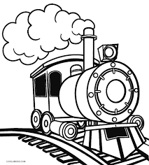 39+ train engine coloring pages for printing and coloring. Free Printable Train Coloring Pages For Kids