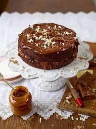 Chocolate and Salted Caramel Cake Chocolate Recipes