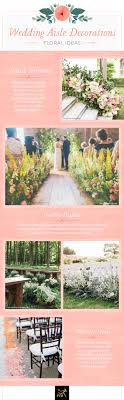 from your flower wall at the rehearsal dinner to your wedding aisle decorations keep the same color scheme luckily no matter your flower choice