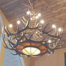 real antler chandeliers for moose antler chandelier view 38 of 45