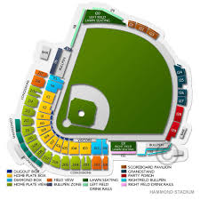 Twins Stadium Seating Chart Spring Training Minnesota Golden Gophers At Minnesota