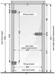 office door lock parts. Visualisierung Masse Tür \u0027Office\u0027 - Lionidas Design GmbH Office Door Lock Parts