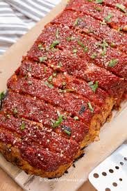 A delicious twist on the classic comfort food, this meatloaf is stuffed with ooey gooey cheese and basted with a tangy sauce, but is still easy enough to prepare on a weeknight. Easy Turkey Meatloaf Moist Spend With Pennies