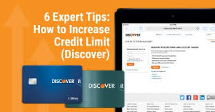 When To Ask For A Credit Line Increase 6 Expert Tips How To Increase Credit Limit Discover Cardrates Com