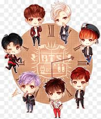 All png & cliparts images on nicepng are best quality. Bts Chibi Fan Art Drawing Chibi Child Toddler Fictional Character Png Pngwing