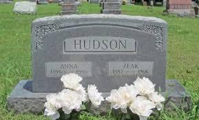 HUDSON, ANNA - Washington County, Arkansas | ANNA HUDSON - Arkansas  Gravestone Photos