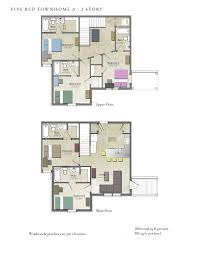 5 room house plan pdf lovely 4 bedroom house plans south africa pdf