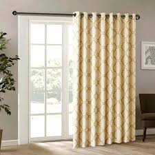 single panel door curtain inch gold color fretwork sliding door curtain beige sliding single panel curtain sliding glass door