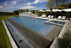 infinity pool edge detail. Wonderful Edge 42 Above Ground Pools With Decks U2013 Tips Ideas U0026 Design Inspiration   Outdoor Chief To Infinity Pool Edge Detail