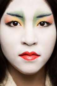 anese woman in makeup