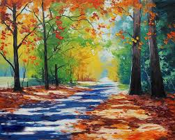 new hand made home decoration painting famous oil painting high quality modern artists landscape oil painting