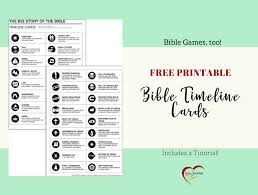 Bible Timeline Chart Free Printable Bible Timeline Cards Bible Journal Love