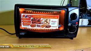 Lò nướng điện đa năng Magic Korea A63 (A-63), Giá tháng 12/2020