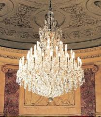 antique maria chandelier theresa bohemian crystal chandeliers
