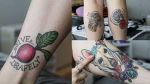 My Newest Tattoos Marvel The Office Luna Tattoo Tour