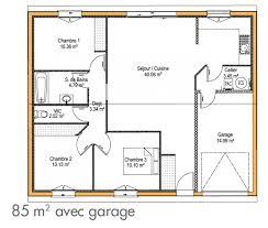 De Maison Simple Plan De Maison Simple 3 Chambres Plan De Maison