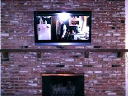 tv wall mount for brick fireplace hang on brick wall mount on brick plasma mounted over tv wall mount for brick fireplace