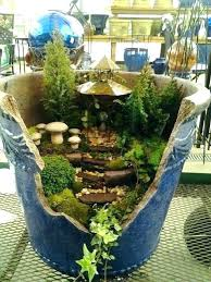 fairy garden planters. fairy garden planter container planters outdoor pots containers plant . e