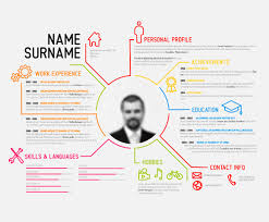 Free Infographic Resume Templates Cv Infographic Template
