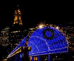 trellis lighting. Lighting Of Iconic Blue Trellis Kicks Off Holiday Season Lights Christmas Lights: Full Size .
