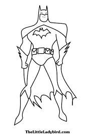 Small Picture Batman Coloring Printoutscoloring Printable Coloring Pages Free