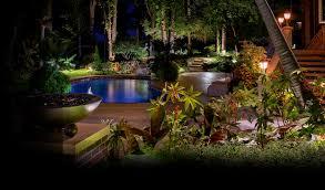 landscape lighting design. outdoor lighting for pool in front yard landscape design d