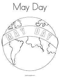 Small Picture May Day Coloring Page Twisty Noodle