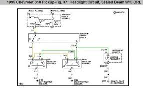 chevy s headlight grounds electrical problem chevy s i found this wiring diagram note the heading it is possible there are some relays in or behind the glove box i d have to double check