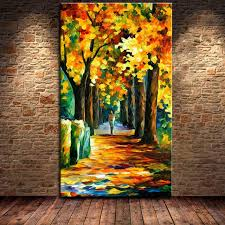 natural scenery oil painting tree scene landscape picture handpainted acrylic paintings nature home decor household adornment