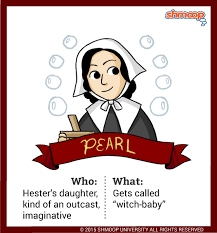 pearl in the scarlet letter chart pearl