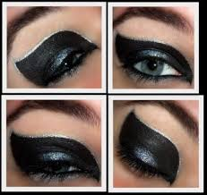 catwoman eye make up