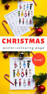 Feel free to grab the i'm a. Christmas Around The World Colouring Pages Adventure In A Box
