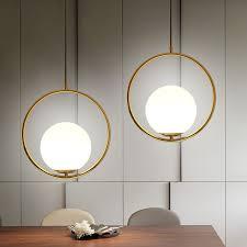 hang lighting. Nordic Pendant Lights Glass Ball Lamps Round Globe Hang Lamp Bar Restaurant Kitchen Fixtures Luminaire Lighting