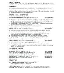 Resume Examples For Fast Food Resume Sample Directory