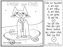 Pete The Cat Coloring Pages Pete The Cat Coloring Page Awesome