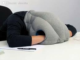 Office nap pillow Airplane Wholesale Ostrich Pillow For Travel Sleeping Nap Pillow Desk Pillow Cushion Office Pillow Z0199 Travel Neck Pillow Shaped Pillow From Shuishu Dhgate Wholesale Ostrich Pillow For Travel Sleeping Nap Pillow Desk Pillow