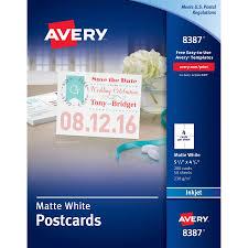 avery reg invitation card ave8387