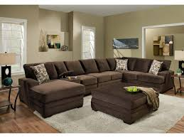 American Contemporary Furniture American Furniture 3500 Contemporary Sectional Sofa With 6 Seats
