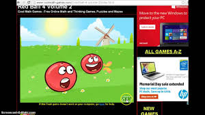 Cool Math Games Red Ball 4 Volume 2 Youtube