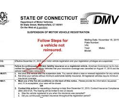 dmv pay fine for insurance registration not curly suspended with regard to ct dmv forms