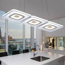 lights for office. Modern Commercial Lighting Office Led Pendant Lights Glass Room Square Lamp Kitchen Lamparas Colgantes For C