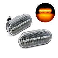 2008 Ford Fusion Side Marker Light Us 11 24 39 Off 2pcs Led Side Marker Turn Signal Lights Amber Lamp For Seat Ibiza Leon For Skoda Octavia For Ford Focus Mk2 Fiesta Fusion Galaxy In