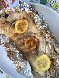 fish in foil packets recipe with lemon er grilled or baked