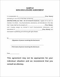 Nda Free Template Non Disclosure Agreement Templates Word non disclosure agreement 1