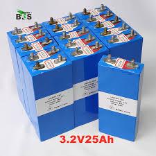<b>1PCS 3.2v 26AH LiFePO4</b> battery 3C rechargeable li polymer cell E ...