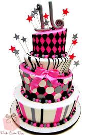 cake boss cakes for sweet 16. Simple Boss Sweet 16 Cake Sliver U0026 Black For Cake Boss Cakes N