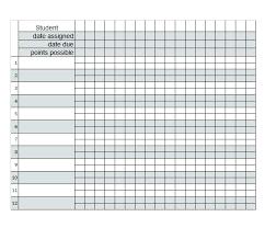 Teacher Grade Sheet Template Grading Sheet Template Destinscroises Info
